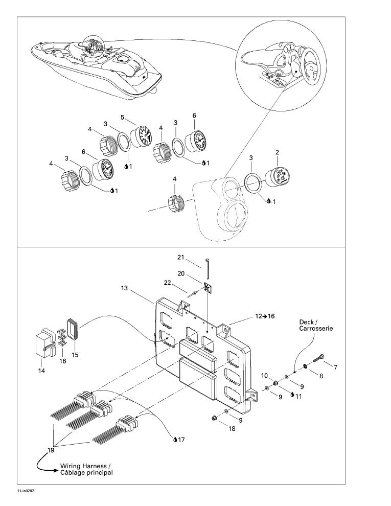 Challenger 1800 Wiring Diagram