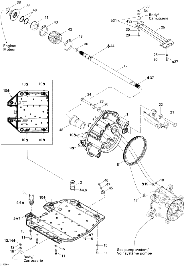 Twin Screw Supercharger Diagram