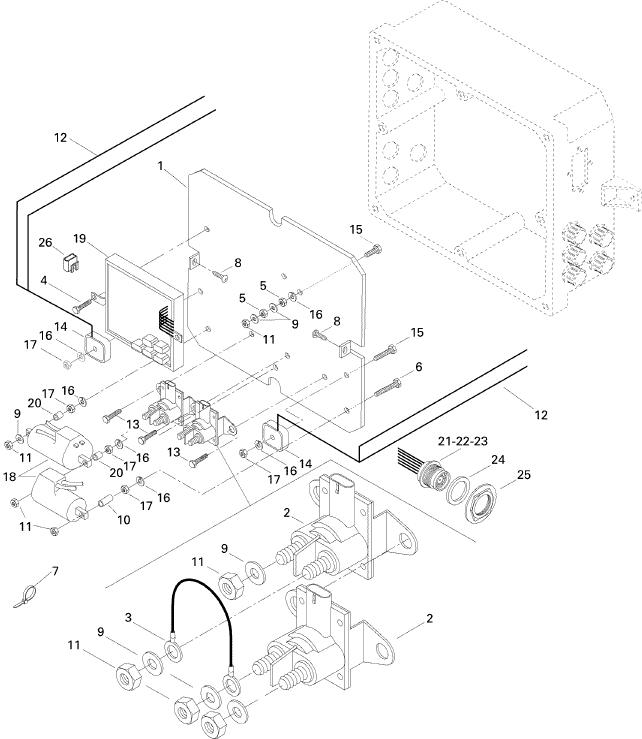 MELBOURNE SEADOO - Speedster, 5897 1996 - Electrical Box