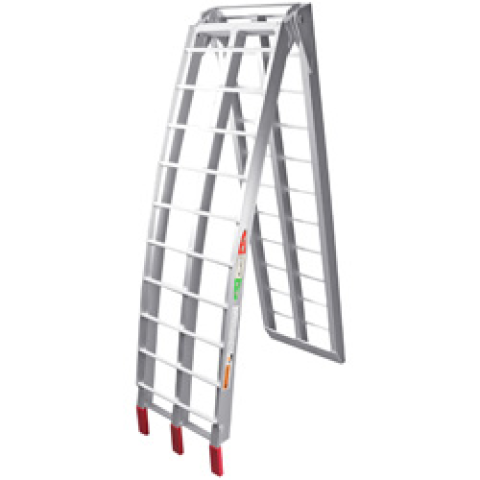 LA CORSA RAMP ALLOY BI FOLD LADDER  2.25M 272KG