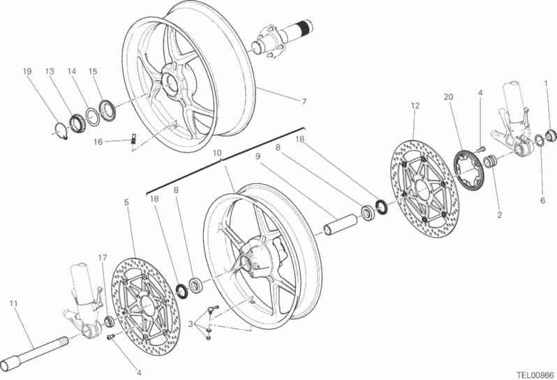 W8 Engine Cutaway