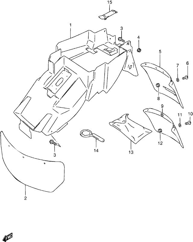 Ref Part No Description Price: 1988 Suzuki Lt80 Wiring Diagram At Hrqsolutions.co