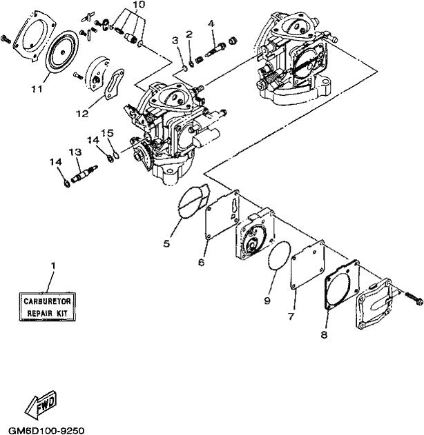 Diptech Performance - WB700A (WAVE BLASTER) 1999 - REPAIR KIT 2