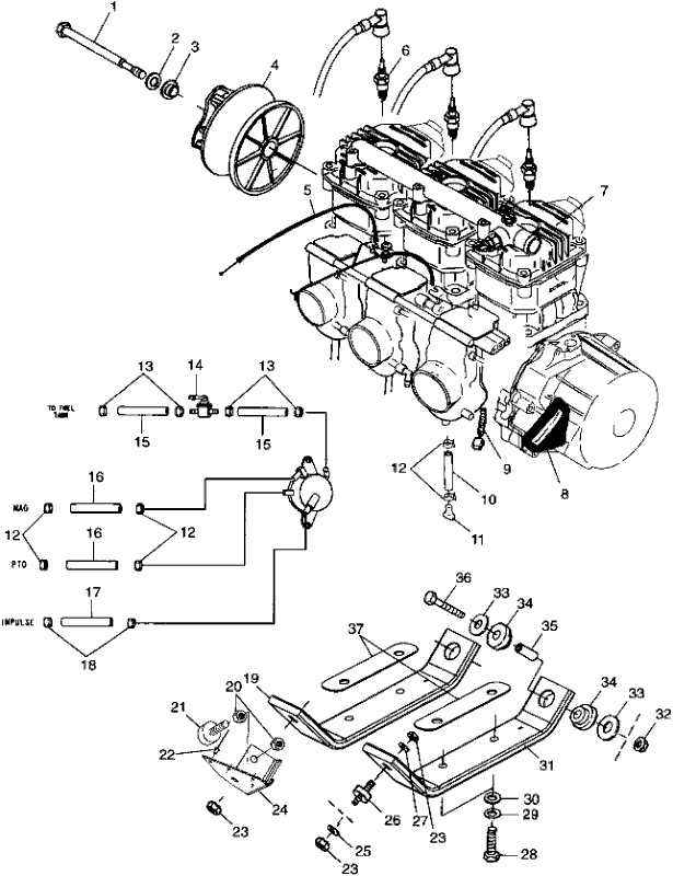 1999 Polaris 700 Xc Wiring Diagram